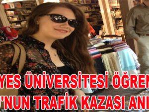 ERCİYES ÜNİVERSİTESİ ÖĞRENCİSİ BURCU'NUN TRAFİK KAZASI-VİDEO