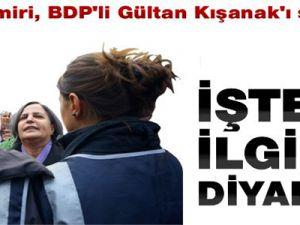 Polisle Gülten Kışanak Arasında Geçen Diyalog