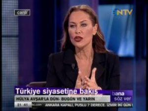 Hülya Avşar: Başbakanı Kendime Benzetiyorum