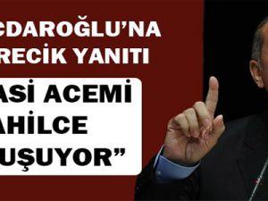 Başbakan Erdoğan'dan Kılıçdaroğlu'na Kürecik yanıtı
