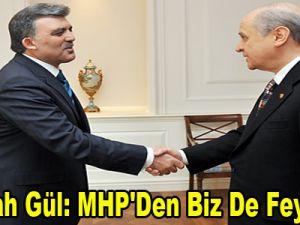 Abdullah Gül: MHP'Den Biz De Feyz Aldık