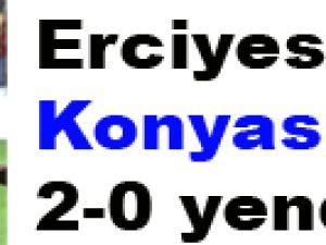 Erciyesspor Konyaspor'u:2-0 yendi