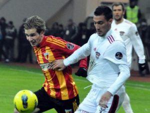 Gaziantep Kayserispor'u 90'da vurdu!