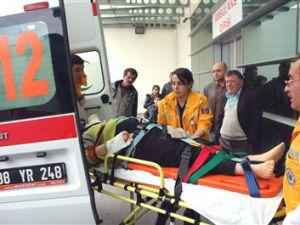 Kayseri'de Araç Takla Attı: 5 Yaralı