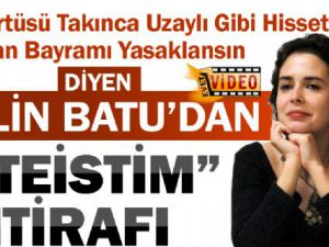 Pelin Batu'dan Ateist'im İtirafı VİDEO