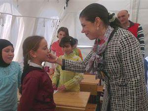 Milletvekili Pelin Gündeş Bakır Hataylı Mültecileri Ziyaret Etti