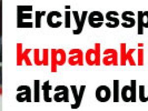 Kayseri erciyesspor'un kupadaki rakibi altay oldu