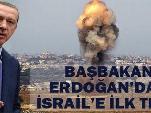 Başbakan Erdoğan İsrail'in Gazze'ye saldırısını değerlendirdi