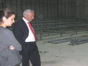 İncesu Belediye Başkan Karayol Konferans Salonu İnşaatını Gezdi