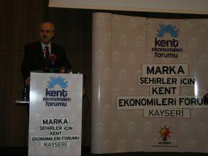 AK Parti Genel Başkan Yardımcısı Numan Kurtulmuş Kayseri'de