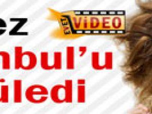 Jennifer Lopez İstanbul'da Konser Verdi VİDEO