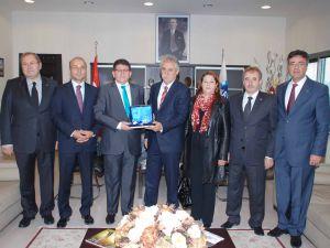 CHP İl Yönetiminden KAYSO Başkanı Boydak'a Ziyaret