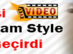 Türk işi Gangnam Style kırdı geçirdi-video