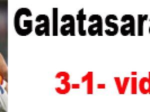 Cluj 1-3 Galatasaray-video