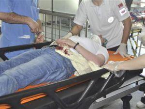 Kayseri'de Trafik Kazası 1 YARALI