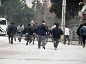 erciyes üniversitesi'nde öğrenci kavgası