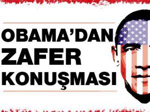 Obama Twitter'dan ABD'lilere teşekkür etti