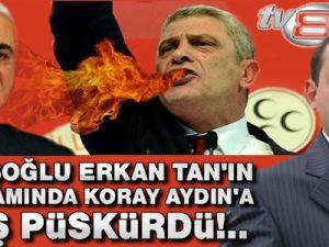 Musavat Dervişoğlu, Erkan Tan'ın Programında Koray Aydın'a Ateş Püskürdü!..