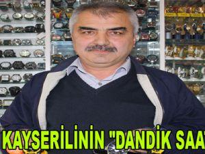 """UYANIK KAYSERİLİNİN """"DANDİK SAAT"""" İLANI"""