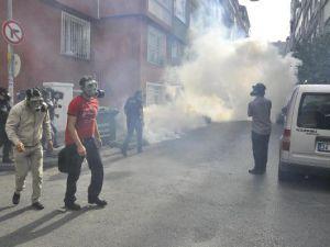Toplanmak isteyen BDP'lilere müdahale