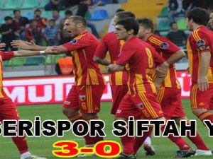 KAYSERİSPOR - K.KARABÜKSPOR: 3-0
