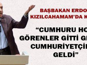 Başbakan Erdoğan Kızılcahamam'da konuştu
