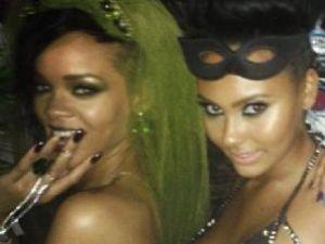Rihanna'nın Çılgın Partisi!