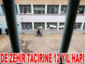 KAYSERİ'DE ZEHİR TACİRİNE 12 YIL HAPİS CEZASI