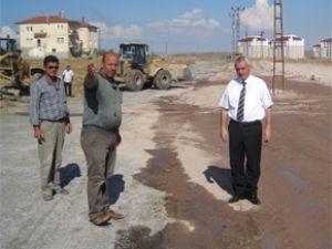 İncesu Belediyesi 2012 Yatırım Programı Çalışmaları hızla devam ediyor.