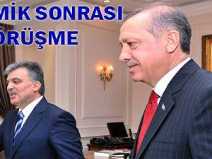Cumhurbaşkanı Abdullah Gül Başbakan Erdoğan ile görüştü