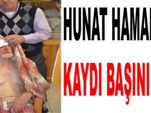 HUNAT HAMAMINDA KAYDI BAŞINI YARDI