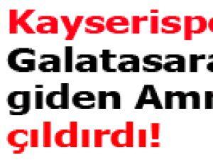 Kayserispor'dan Galatasaray'a giden Amrabat çıldırdı!