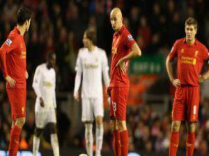Liverpool'a Anfield Road'da kupadan elendi 1-3
