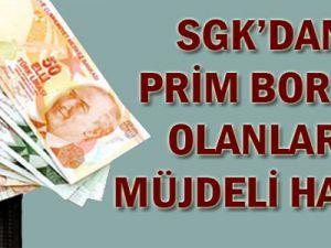 SGK prim borçları için süreyi uzattı