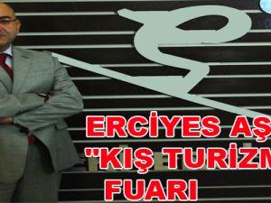 """ERCİYES AŞ'DEN """"KIŞ TURİZM"""" FUARI"""