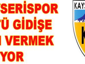 KAYSERİSPOR KÖTÜ GİDİŞE SON VERMEK İSTİYOR