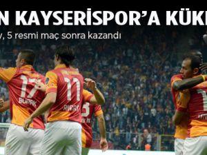 Aslan Kayseri'ye kükredi: 3-0