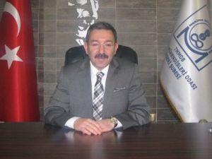 MMO Kayseri Şube Başkanı Hakan Özcan Kurban Bayramı Mesajı