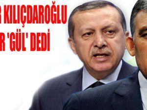Gül, Kılpayı Erdoğan'ın Önünde