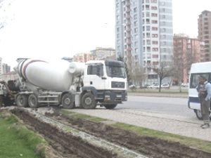 Kayseri'de betonculara trafik cezası