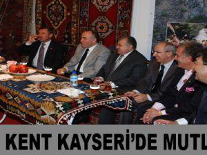 KADİM KENT KAYSERİ'DE MUTLU SON