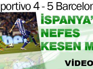 Deportivo 4 5 Barcelona Maçı Özeti İzle 20 EKİM 2012