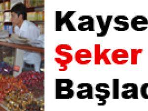 ŞEKER TELAŞI BAŞLADI