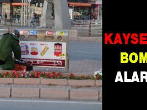 Kayseri'de Şüpheli Valiz Alarmı