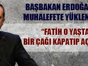 Başbakan Erdoğan Elazığ'da konuştu!