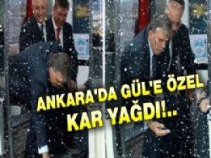 Abdullah Gül İçin Ankara'ya Kar Yağdırıldı...Kadim Kent Kayseri Tanıtım Günleri...