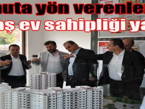 """""""Konuta yön verenlere Kınaş ev sahipliği yaptı"""""""