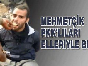 Mehmetçik'ten PKK'lılara insanlık dersi