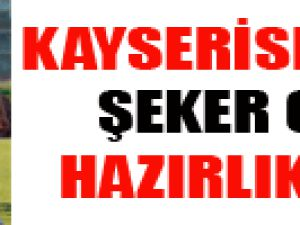 KAYSERİSPOR'DA ŞEKER GİBİ HAZIRLIK MAÇI