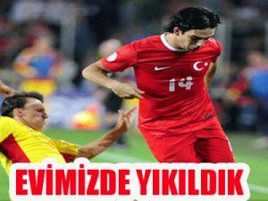 Türkiye: 0 - Romanya: 1